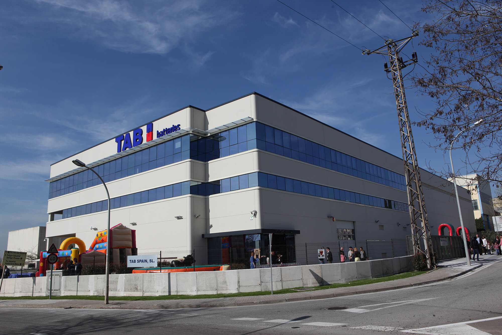 TAB SPAIN – GRAND OPENING OF NEW BUSINESS FACILITIES