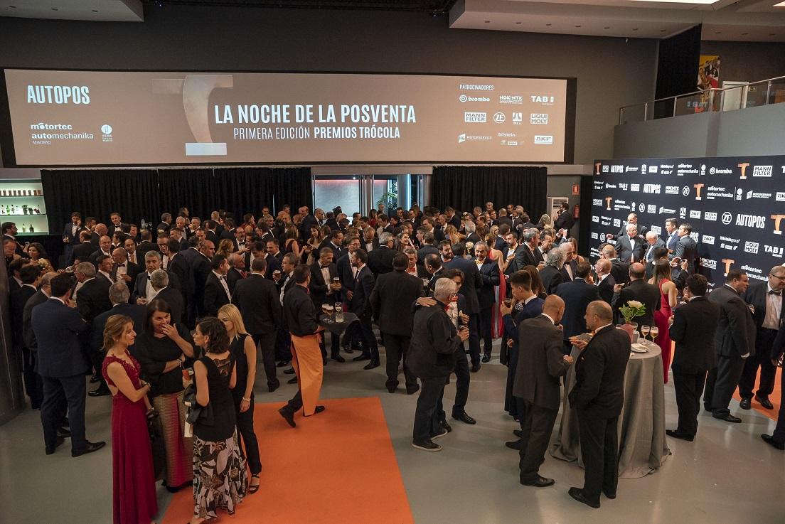 TROCOLA AUTOMOTIVE AWARDS MADRID 2018