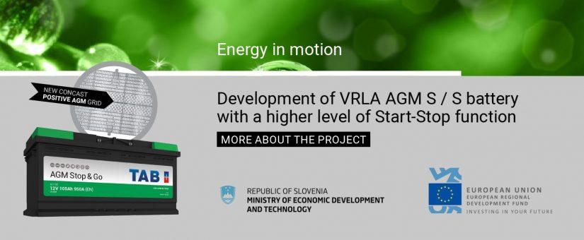 DEVELOPMENT OF VRLA AGM S/S BATTERY