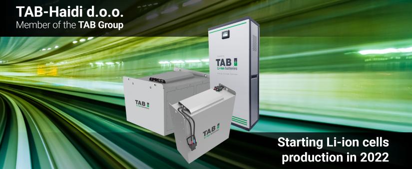 TAB-Haidi d.o.o., podjetje za proizvodnjo Li-ion celic